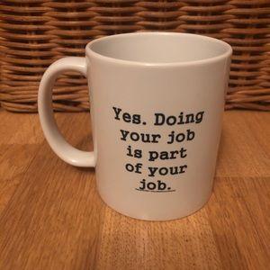 NWT~ cafe mug